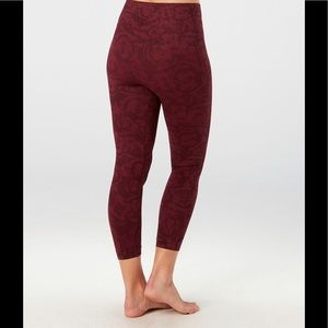SPANX Look at me now seamless cropped leggings NEW